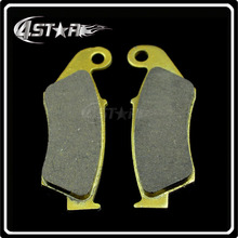 Front Brake Pads For KX125 KDX200 RM125 KLX250 KX250 KLX300 KLX400 KLX450 KX450 KX500 KLX650 Motorcycle Racing Street Bike