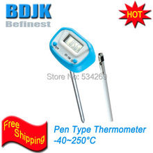 Pen Type Digital Thermometer to Measuring Food Temperature also Usded in Laboratory Gardening