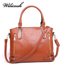 Wilicosh 2017 New Design Women Fashion Handbag Top PU Leather Women's Messenger Bag Luxury Female Shoulder Bags Bolsas YF009