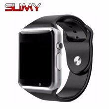 Slimy Best A1 Smart Watch Phone Men Women Clock Sync Notifier Support TF Card for Apple iphone Android Phone Smartwatch PK DZ09