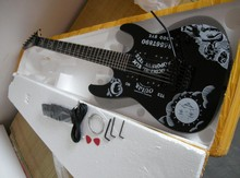 Freeshipping High quality ESPp guitars KH-2 Kirk Hammett Ouija black electric guitar ESP GUITARS(China)