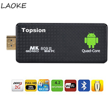 LAOKE MK809 Android 5.1 TV Dongle RK3229 Quad-Core 2G/8G 4K TV Stick KODI/XBMC PC AirPlay Miracast/DLNA WiFi Smart Media Player