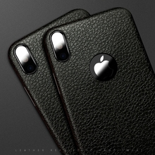 Buy Retro Case iphone X Silicon Ultra Thin TPU Soft Leather Skin Phone Case Apple iphoneX iphone X Logo Hole Back Cover for $1.79 in AliExpress store
