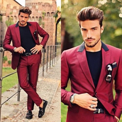 Red-Peaked-Lapel-Men-Suits-Latest-Coat-Pant-Designs-Custome-Homme-Fashion-Tuxedos-Slim-Fit-Terno (2)
