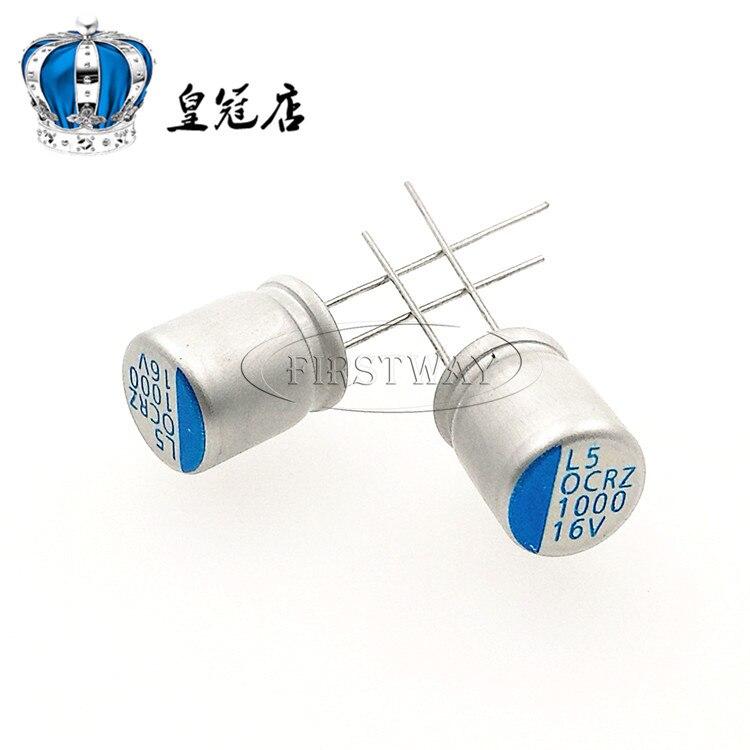 Solid Capacitor 16V1000UF 10 * 13 Main Board Capacitance 1000UF 16V 10 * 13mm<br><br>Aliexpress