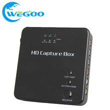 HDCP 929H HDMI Recorder Games Capture Box Standalone 1080p Recorder Box into external HDD or USB and SD For XBOX PS3 PS4 tv box