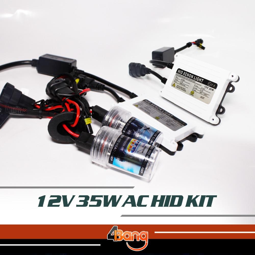 Fast start bright hid Xenon kit 12v AC 35w H1 H3 H7 H8 H9 H11 H13 9005 9006 880 881 Quick Start Car Headlight COLOR 3000K~30000K<br><br>Aliexpress