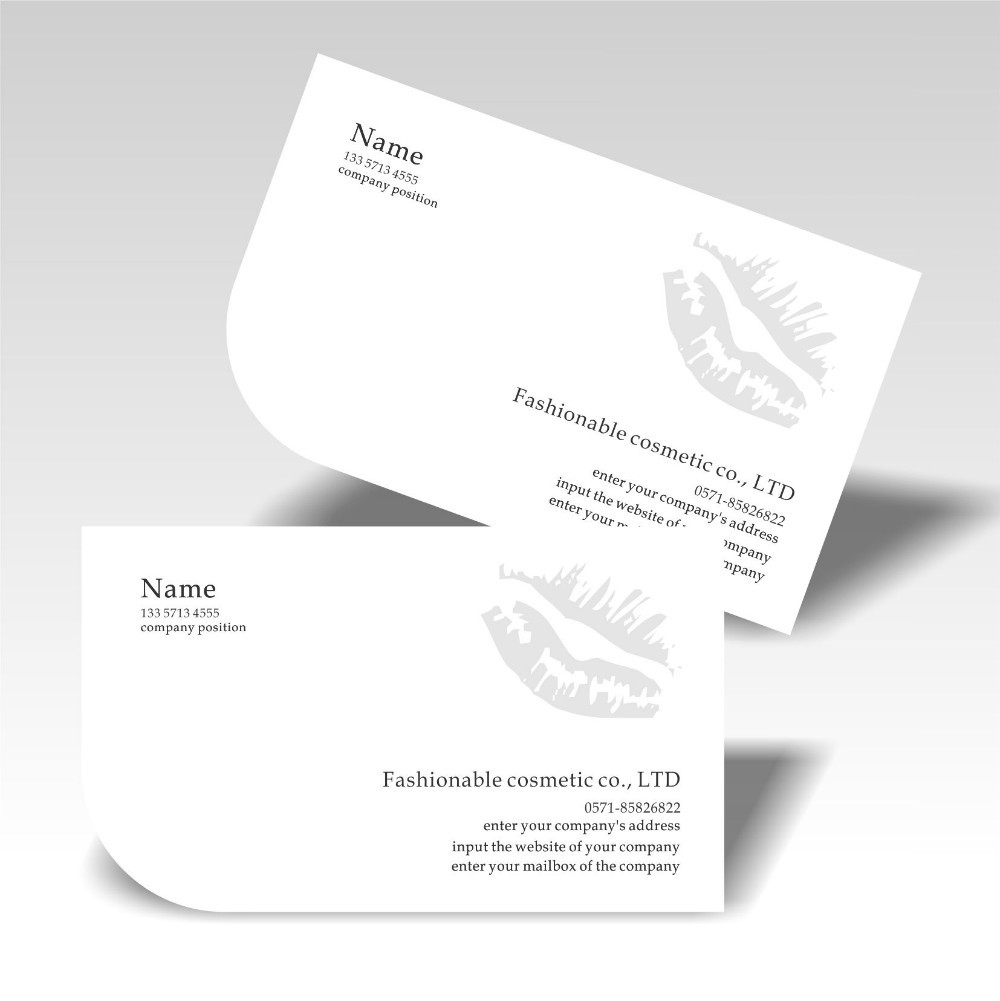 Free shipping stylish design die cutting customized business cards free shipping stylish design die cutting customized business cards print 350gsm art paper professional service manufactory price in business cards from reheart Choice Image