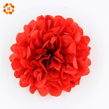 "10pcs Hot selling 6"" (15cm) Wedding Decorative Props Tissue Paper Pompoms Pom Poms Balls Wedding Party Home Decoration"