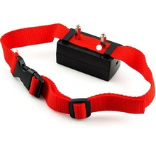 1 pcs New Anti No Bark Shock Dog Trainer Stop Barking Pet Training Control Collar collier anti aboiement rechargeable