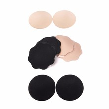 Buy Fashion Reusable Self-Adhesive Silicone Breast Nipple Cover Bra Pasties Pad New F05