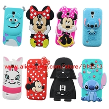 For Samsung Galaxy S4 mini Case 3D Minnie Sulley Tiger Stitch Marie Cat Darth Vader Soft Phone Cases Cover For Samsung S4 mini