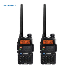 2pcs UV5R VOX 10 Km Walkie Talkie pair Two Way Radio Station Car CB Ham Radio For Bao Feng Police Equipment uv 5r Baofeng uv-5r(China)