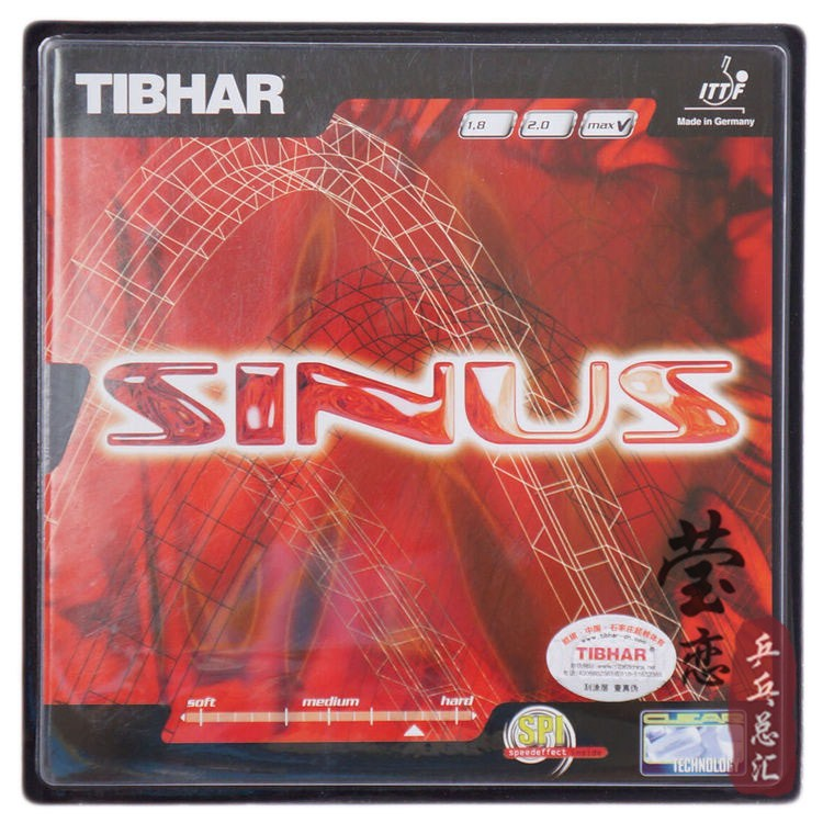 Original Tibhar SINUS pimples in table tennis rubber table tennis rackets racquet sports made in Germany fast attack with loop<br><br>Aliexpress