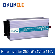 Smart Series Pure Sine Wave Inverter 2500W CLP2500A-241 DC 24V to AC 110V 2500W Surge Power 5000W Power Inverter 24V 110V