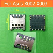 100% Genuine Sim Card Reader Socket for Asus Pegasus X002 X003 Sim Card Slot Adapter Sim Slot Tray Holder lager & small size