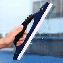 1 pcs Silicone Car Window Wash Clean Cleaner Wiper Squeegee Drying Blade Shower Kit (Size: One Size, Color: Blue)(China)