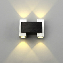 Decorative wall lamp 85-265V 4W led living room bedroom sconce light hotel bar corridor lamps