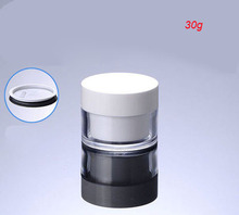NEW 30G double wall cream bottle cosmetic container cream jar Cosmetic Jar Cosmetic Packaging