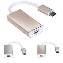 Onfine Leo USB 3.1 Type C to Mini DisplayPort DP 1080p HDTV Adapter Cable for Macbook