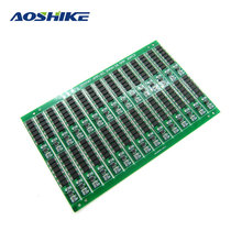 Aoshike 5Pcs 1s 3.2V 18650 Rechargeable Battery Lithium Iron Phosphate Protective Board Anti-overcharge Protection Board