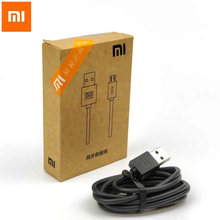 Original Xiaomi Micro Usb charger Cable For M1 M1S M2 M2S M2A Mobile Phone 100cm Black 1A Charge Charger Cable(China)