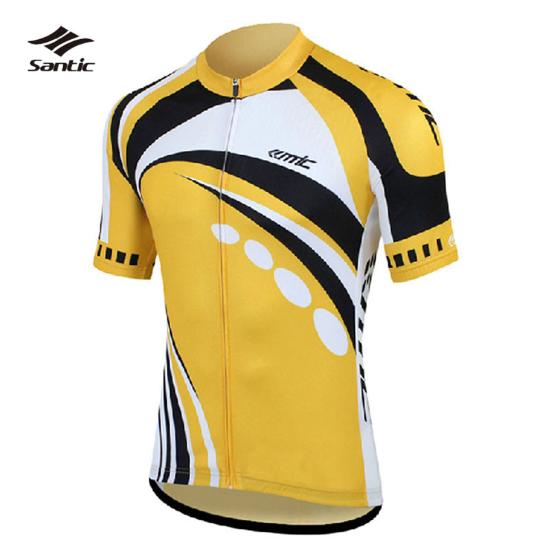 Original Pro Santic Summer Cycling Jersey Super Cool Breathable Clothing MTB Bike Bicycle Short Sleeve Male Ropa Ciclismo<br><br>Aliexpress