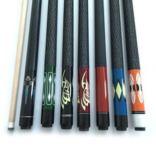 Free shipping Cheap billiard cues Stick for Pool 12.75MM Maple Wood 8 Ball/9 ball cues billiard accessories