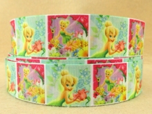 "1"" (25mm) Cartoon series Happy Easter printed polyester ribbon, DIY handmade materials, wedding gift wrap,50Yc643"