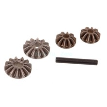 Diff. Pinions+Bevel Gears+Pin,Spare Parts For HSP Himoto Redcat 1/10 Racing Model Car,02066 ,For a variety of HSP models