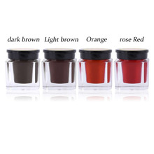 Korean Style Semi Permanet Facial Makeup Pigment Beginners Training Professional Eyebrow Microblading Tattoo Ink Pigment