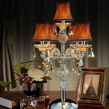 contemporary table lamp bedroom led table light candle modern bedside table lamp wedding candelabra living room led desk lamp
