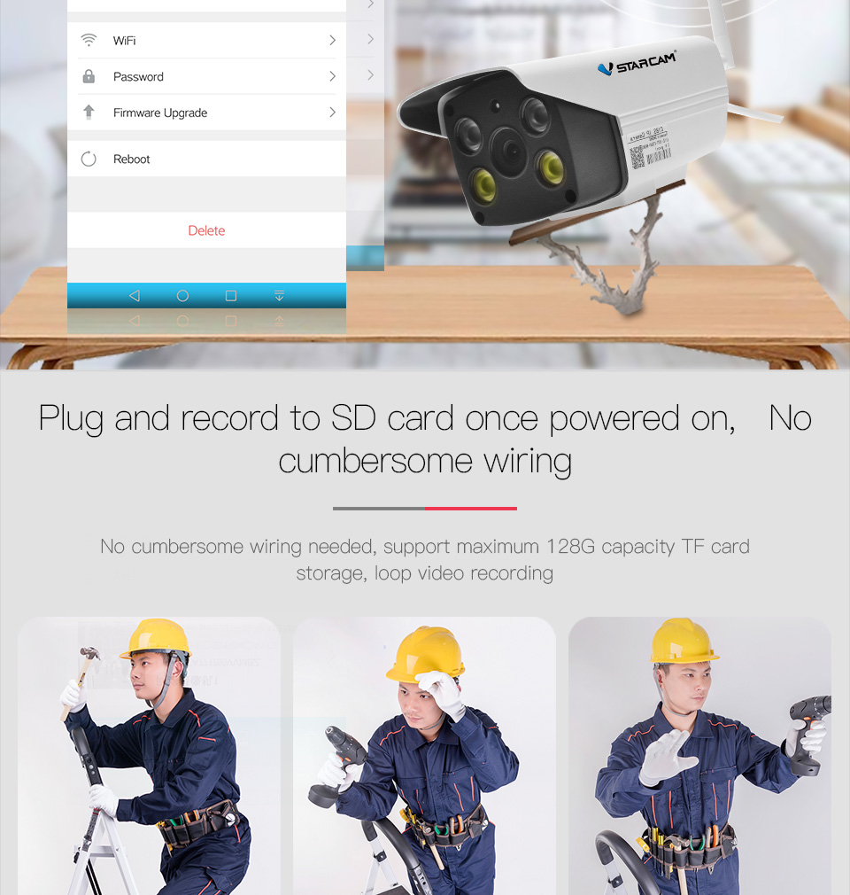 c18s support 128G TF card