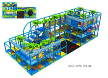 Top Quality Kids Playground Equipment  CE Certificated Plaza De Juegos HZ-150407a