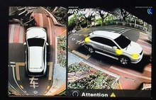 SZDALOS Car Multi angle Camera 3D View Surround View System 360 Degree Bird View Panorama System(China)