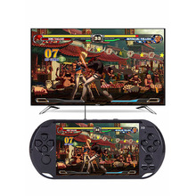 5 inch Screen X9 Portable Video Game Players 8GB Handheld Game Console MP4 Player with Camera Support TV Out TF Free Download(China)