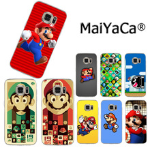 MaiYaCa Super Mary 2017 New Luxury fashion cell phone case for Samsung S3 S4 S5 S6 S6edge S6plus S7 S7edge S8 S8plus(China)