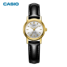 CASIO Watches 2017 New Fashion Simple LTP-1095Q Classic Watches Women Leather Quartz Watch Dress Relogio Feminino Free Shipping(China)