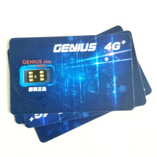 Original Genius SIM 4G+ SIM Card Accessories CHIP Unlock Plug And Play Worldwide Universal Use For IOS From 5 to 7plus