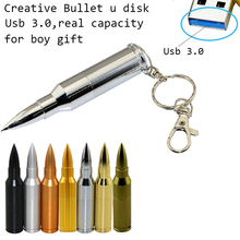 High speed 8G 16G 32G 64G usb flash drive 3.0 pen drive bullet shape usb flash drive usb stick memory stick U Thumb usb(China)