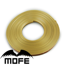 Mofe 8M Universal Car wheel Rim Stickers Tire Protection Decoration Automobile Hub Wheel Stickers Protector Decors Car-styling