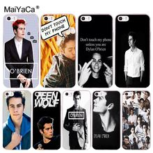 Buy MaiYaCa Dylan O'Brien Teen Wolf Amazing new arrival phone case cover iPhone 8 7 6 6S Plus X 10 5 5S SE 5C 4 4S Coque Shell for $1.29 in AliExpress store