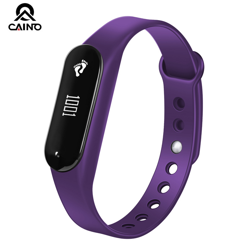 CAINO New Smart Watch Heart Rate Monitor Pedometer Fashion Watch Women/men Bluetooth Smart bracelet For IOS Android Waterproof<br>