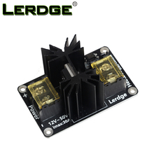 LERDGE 3D Printer Parts General Add-on Heated Bed Power Expansion Module High Power Module expansion board with Cable(China)