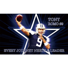 3x5ft Dallas Cowboys number 9 player tony romo flag with Metal Grommets(China)