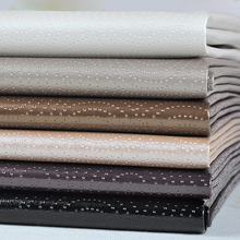 100x135cm Embossed Leather Cover Material For Sewing Semi Pu Leatherette Upholstery Furniture Fabric Waterproof  Tissus Au Metre