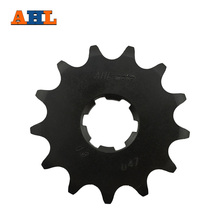 AHL 13T Motorcycle Front Sprocket for Kawasaki KDX200 KDX250 KDX220R KL250 KLX250R KX250 KLX300R KX500 520 Chain(China)