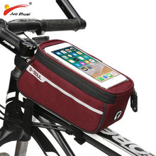Buy JS Waterproof Bike Bag TPU Touch Screen Bicycle Bag Large Capacity Cycling Bags Backpack Multifunction Mobile Phone Holder for $11.26 in AliExpress store