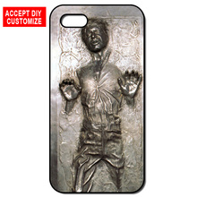 Han Solo Hard Phone Cover Case for iPhone 4 4S 5 5S SE 5C 6 6S 7 8 Plus iPod Touch 5 LG G2 G3 G4 G5 G6(China)