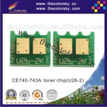(CZ-UH5520) toner laser printer reset chip for HP Color LaserJet CP1215 CP1515 CP1518 CP2025 CP5225 CP3525 CM3530 bkcmy free dhl(China)